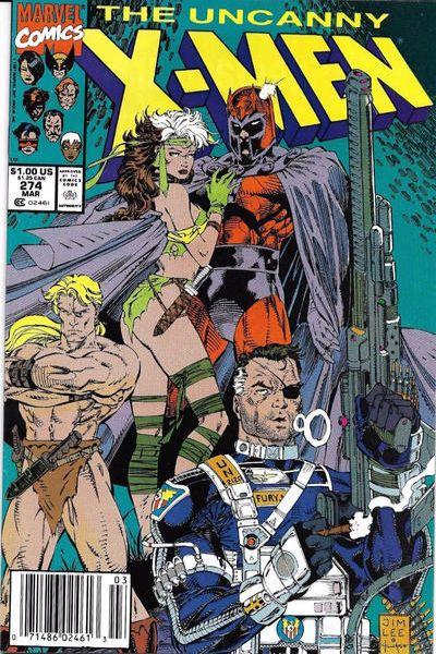 Uncanny X-Men #274 Comic Books - Covers, Scans, Photos  in Uncanny X-Men Comic Books - Covers, Scans, Gallery