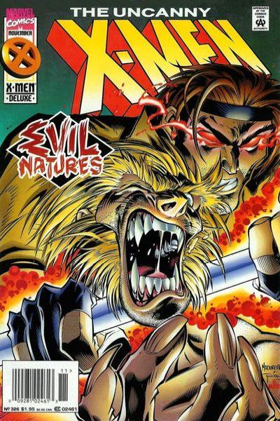 Uncanny X-Men #326 Comic Books - Covers, Scans, Photos  in Uncanny X-Men Comic Books - Covers, Scans, Gallery