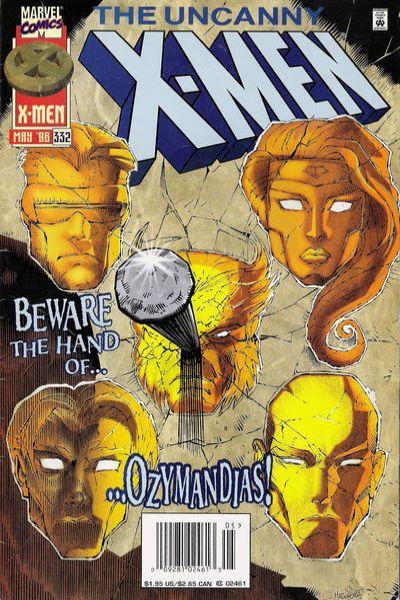 Uncanny X-Men #332 Comic Books - Covers, Scans, Photos  in Uncanny X-Men Comic Books - Covers, Scans, Gallery