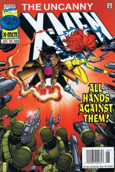 Uncanny X-Men #333 Comic Books - Covers, Scans, Photos  in Uncanny X-Men Comic Books - Covers, Scans, Gallery