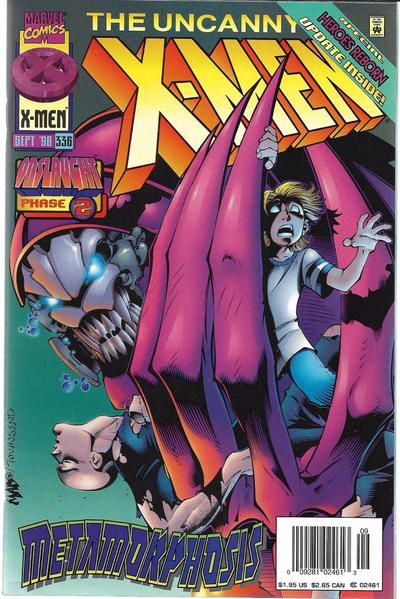Uncanny X-Men #336 Comic Books - Covers, Scans, Photos  in Uncanny X-Men Comic Books - Covers, Scans, Gallery