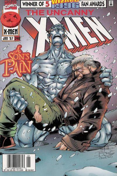 Uncanny X-Men #340 Comic Books - Covers, Scans, Photos  in Uncanny X-Men Comic Books - Covers, Scans, Gallery