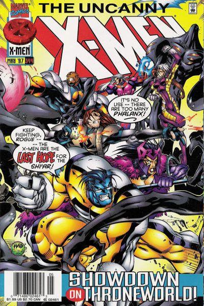 Uncanny X-Men #344 Comic Books - Covers, Scans, Photos  in Uncanny X-Men Comic Books - Covers, Scans, Gallery