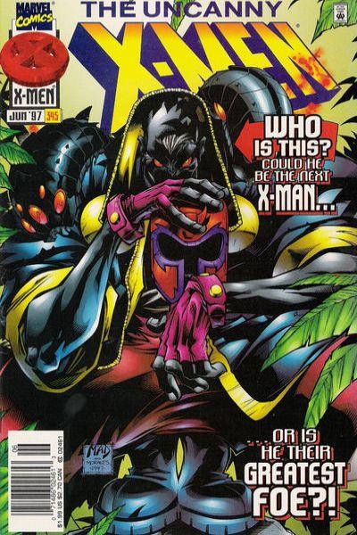 Uncanny X-Men #345 Comic Books - Covers, Scans, Photos  in Uncanny X-Men Comic Books - Covers, Scans, Gallery