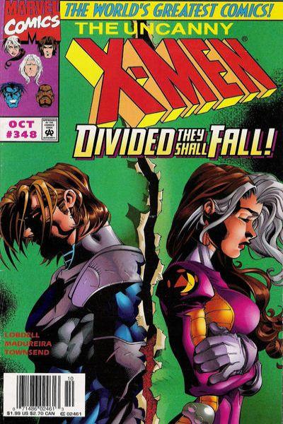 Uncanny X-Men #348 Comic Books - Covers, Scans, Photos  in Uncanny X-Men Comic Books - Covers, Scans, Gallery