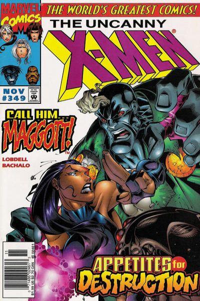 Uncanny X-Men #349 Comic Books - Covers, Scans, Photos  in Uncanny X-Men Comic Books - Covers, Scans, Gallery