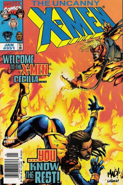 Uncanny X-Men #351 Comic Books - Covers, Scans, Photos  in Uncanny X-Men Comic Books - Covers, Scans, Gallery