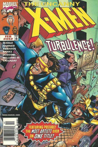 Uncanny X-Men #352 Comic Books - Covers, Scans, Photos  in Uncanny X-Men Comic Books - Covers, Scans, Gallery