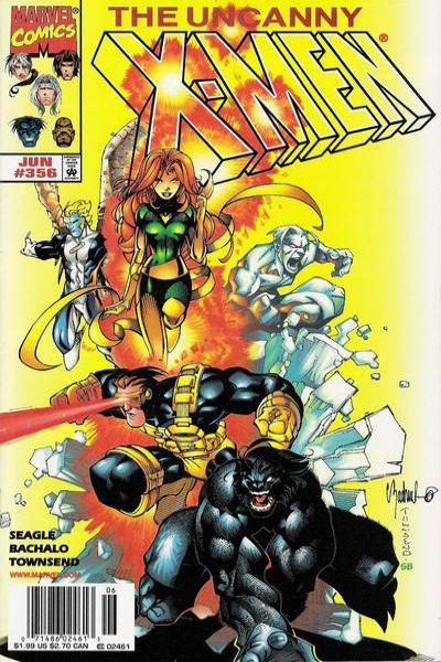 Uncanny X-Men #356 Comic Books - Covers, Scans, Photos  in Uncanny X-Men Comic Books - Covers, Scans, Gallery