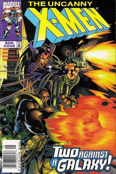 Uncanny X-Men #358 Comic Books - Covers, Scans, Photos  in Uncanny X-Men Comic Books - Covers, Scans, Gallery