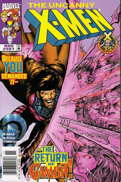 Uncanny X-Men #361 Comic Books - Covers, Scans, Photos  in Uncanny X-Men Comic Books - Covers, Scans, Gallery