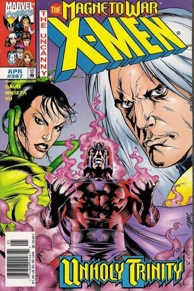Uncanny X-Men #367 Comic Books - Covers, Scans, Photos  in Uncanny X-Men Comic Books - Covers, Scans, Gallery