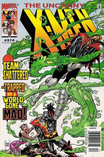 Uncanny X-Men #374 Comic Books - Covers, Scans, Photos  in Uncanny X-Men Comic Books - Covers, Scans, Gallery