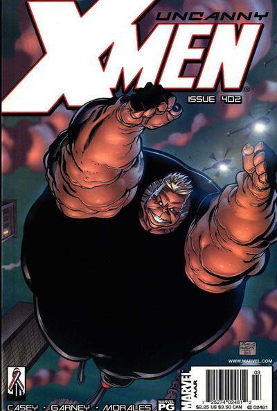 Uncanny X-Men #402 Comic Books - Covers, Scans, Photos  in Uncanny X-Men Comic Books - Covers, Scans, Gallery