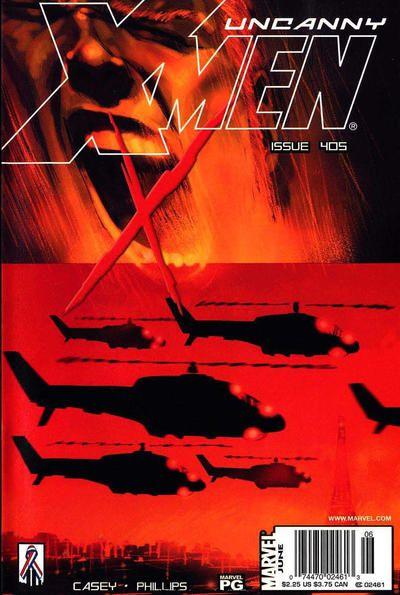Uncanny X-Men #405 Comic Books - Covers, Scans, Photos  in Uncanny X-Men Comic Books - Covers, Scans, Gallery