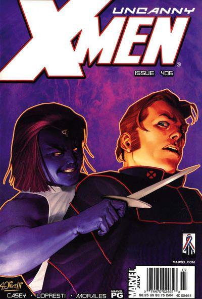 Uncanny X-Men #406 Comic Books - Covers, Scans, Photos  in Uncanny X-Men Comic Books - Covers, Scans, Gallery