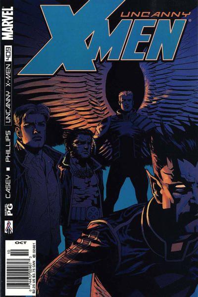 Uncanny X-Men #409 Comic Books - Covers, Scans, Photos  in Uncanny X-Men Comic Books - Covers, Scans, Gallery