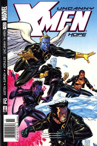 Uncanny X-Men #410 Comic Books - Covers, Scans, Photos  in Uncanny X-Men Comic Books - Covers, Scans, Gallery