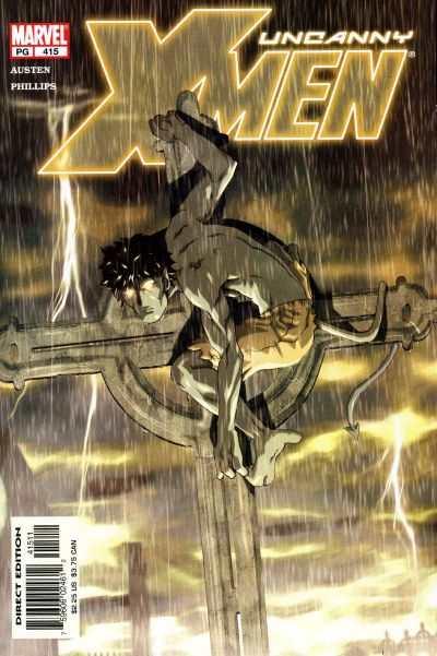 Uncanny X-Men #415 Comic Books - Covers, Scans, Photos  in Uncanny X-Men Comic Books - Covers, Scans, Gallery