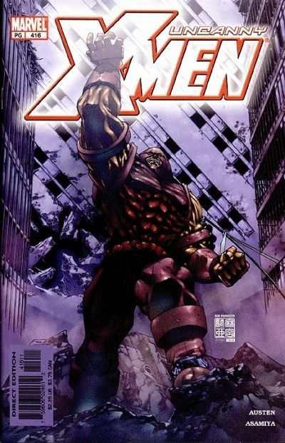 Uncanny X-Men #416 Comic Books - Covers, Scans, Photos  in Uncanny X-Men Comic Books - Covers, Scans, Gallery