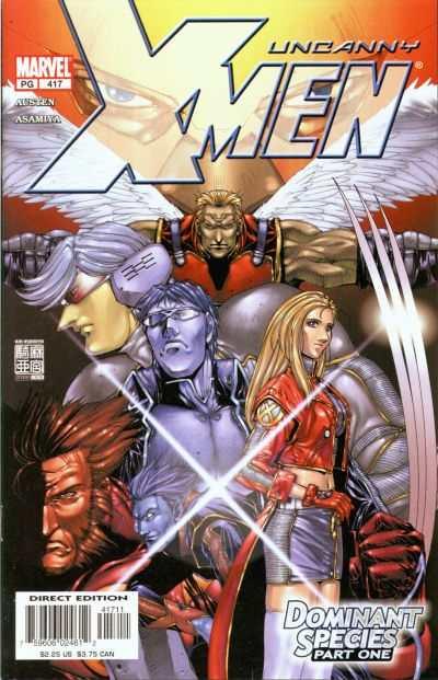 Uncanny X-Men #417 Comic Books - Covers, Scans, Photos  in Uncanny X-Men Comic Books - Covers, Scans, Gallery