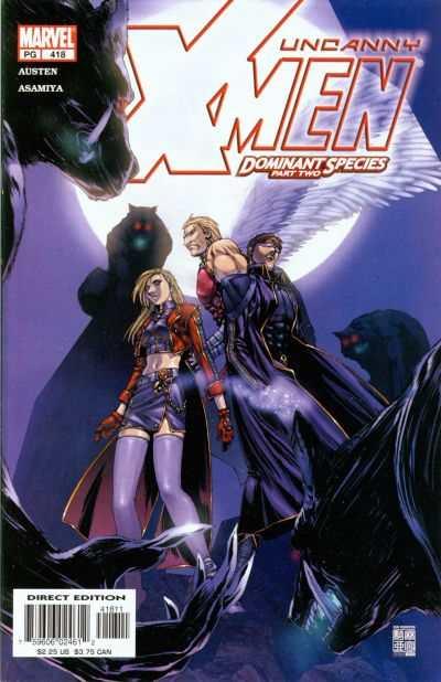 Uncanny X-Men #418 Comic Books - Covers, Scans, Photos  in Uncanny X-Men Comic Books - Covers, Scans, Gallery