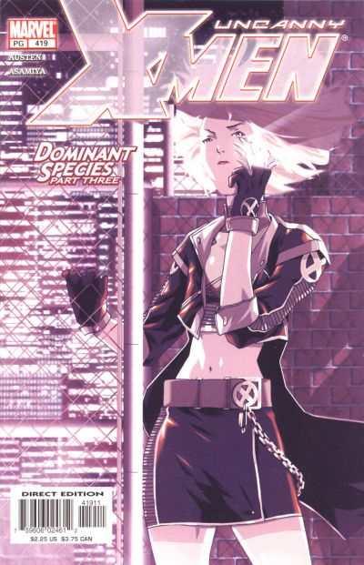 Uncanny X-Men #419 Comic Books - Covers, Scans, Photos  in Uncanny X-Men Comic Books - Covers, Scans, Gallery