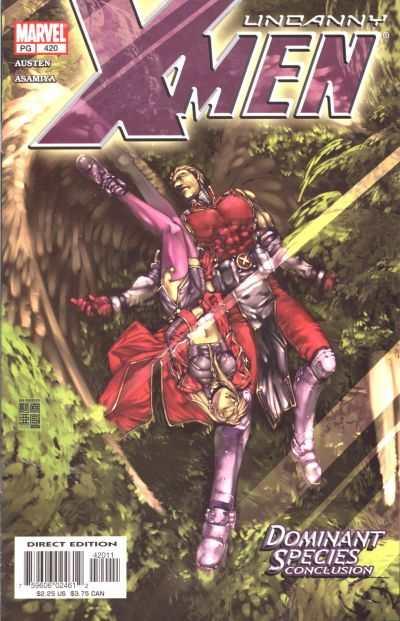 Uncanny X-Men #420 Comic Books - Covers, Scans, Photos  in Uncanny X-Men Comic Books - Covers, Scans, Gallery