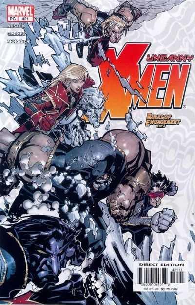 Uncanny X-Men #421 Comic Books - Covers, Scans, Photos  in Uncanny X-Men Comic Books - Covers, Scans, Gallery
