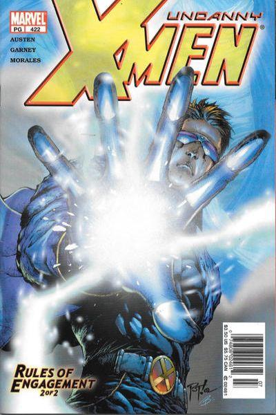 Uncanny X-Men #422 Comic Books - Covers, Scans, Photos  in Uncanny X-Men Comic Books - Covers, Scans, Gallery