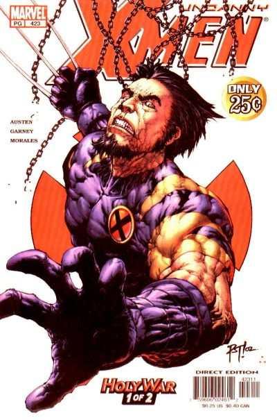 Uncanny X-Men #423 Comic Books - Covers, Scans, Photos  in Uncanny X-Men Comic Books - Covers, Scans, Gallery