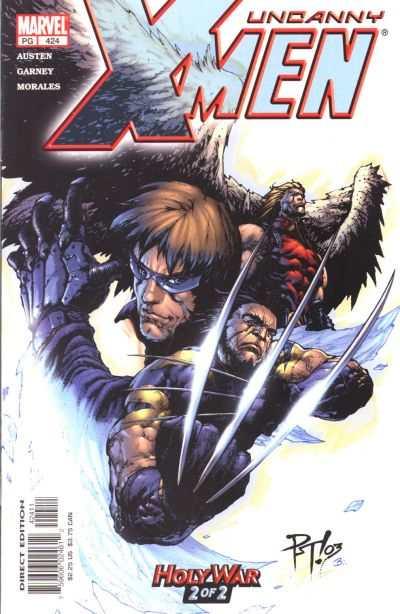 Uncanny X-Men #424 Comic Books - Covers, Scans, Photos  in Uncanny X-Men Comic Books - Covers, Scans, Gallery