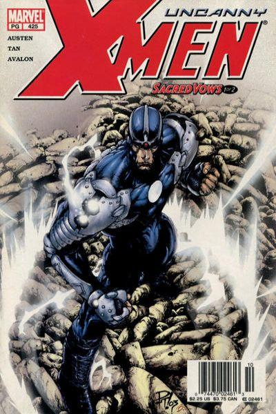 Uncanny X-Men #425 Comic Books - Covers, Scans, Photos  in Uncanny X-Men Comic Books - Covers, Scans, Gallery