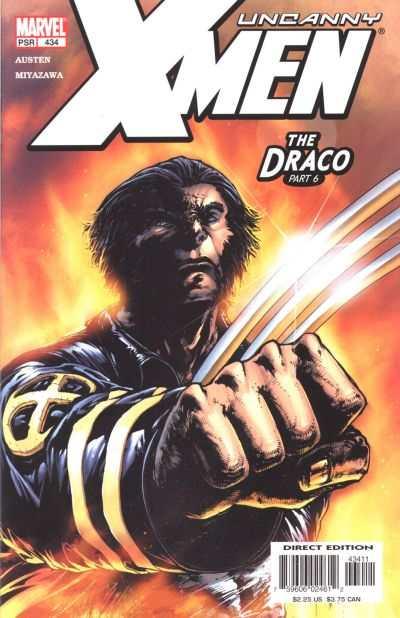 Uncanny X-Men #434 comic books for sale