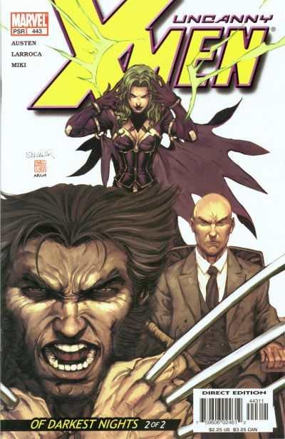 Uncanny X-Men #443 comic books for sale