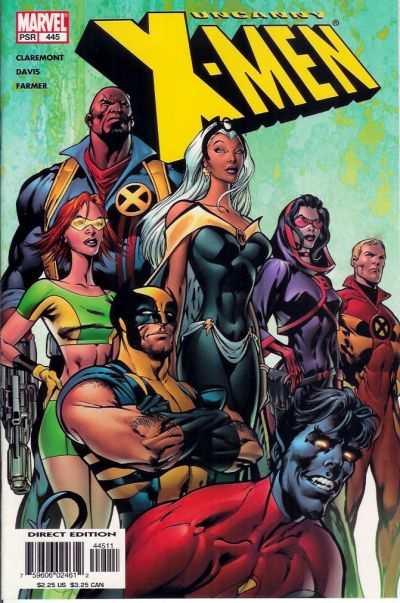 Uncanny X-Men #445 comic books for sale