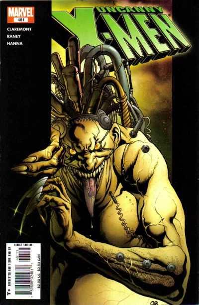 Uncanny X-Men #461 comic books for sale