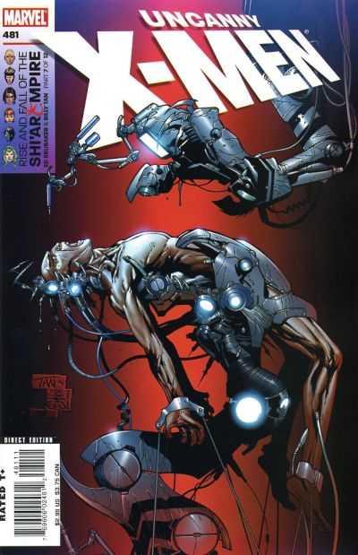 Uncanny X-Men #481 comic books for sale