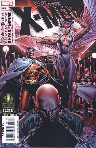 Uncanny X-Men #485 comic books for sale