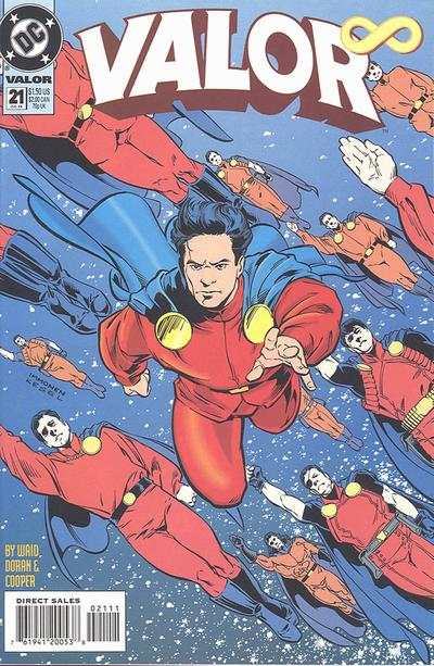 Valor 1992 series # 21 near mint comic book