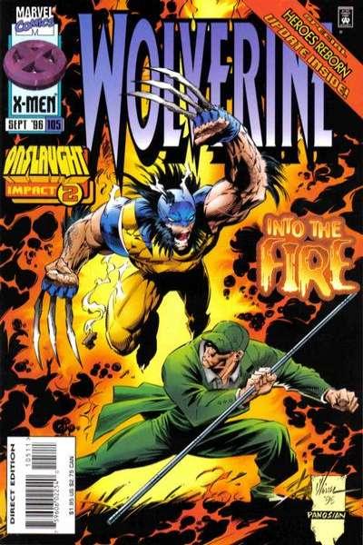 Wolverine #105 comic books for sale