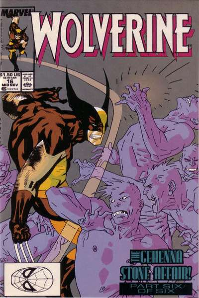Wolverine #16 Comic Books - Covers, Scans, Photos  in Wolverine Comic Books - Covers, Scans, Gallery