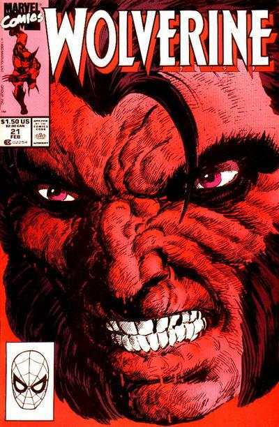 Wolverine #21 Comic Books - Covers, Scans, Photos  in Wolverine Comic Books - Covers, Scans, Gallery