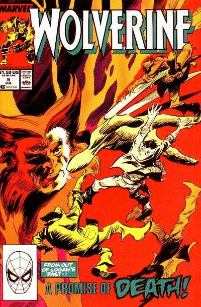 Wolverine #9 Comic Books - Covers, Scans, Photos  in Wolverine Comic Books - Covers, Scans, Gallery