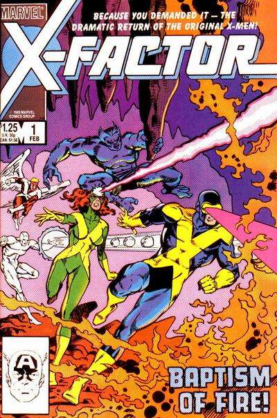 X-Factor Comic Books. X-Factor Comics.