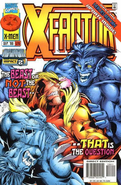 X-Factor #126 comic books for sale