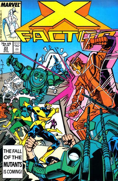 X-Factor #23 comic books for sale