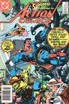 Action Comics #552 comic books for sale