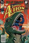 Action Comics #664 Comic Books - Covers, Scans, Photos  in Action Comics Comic Books - Covers, Scans, Gallery