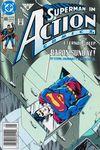 Action Comics #665 Comic Books - Covers, Scans, Photos  in Action Comics Comic Books - Covers, Scans, Gallery
